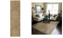 "Oriental Weavers Heritage 2162J Beige/Gray 2'7"" x 9'4"" Runner Area Rug"