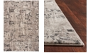 "Kas CLOSEOUT! Reflections Natura 7405 Gray 5'3"" x 7'7"" Area Rug"
