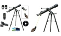 Cosmo Brands Cassini 800mm X 72mm Land, Sky Tracker Telescope with Electronic Focus Remote
