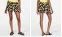 Michael Kors Pull-On Floral-Print Shorts