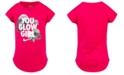 Nike Little Girls You Glow Girls Graphic Cotton T-Shirt