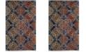 Safavieh Evoke Blue and Orange 3' x 5' Area Rug
