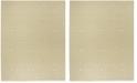 Safavieh Linden Cream and Olive 8' x 10' Area Rug