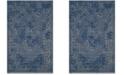 Safavieh Palazzo Blue and Light Gray 5' x 8' Area Rug