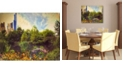 """Courtside Market Central Park Painted Gallery-Wrapped Canvas Wall Art - 16"""" x 20"""""""