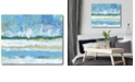 """Courtside Market Beachy Coast Gallery-Wrapped Canvas Wall Art - 16"""" x 20"""""""