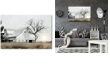 """Courtside Market Country farm with Old Oak Gallery-Wrapped Canvas Wall Art - 24"""" x 36"""""""