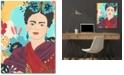 "Courtside Market Frida Garden II Gallery-Wrapped Canvas Wall Art - 18"" x 24"""