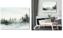 """Courtside Market Winter Pines Gallery-Wrapped Canvas Wall Art - 16"""" x 20"""""""