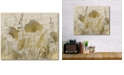 """Courtside Market Golden Poppies Gallery-Wrapped Canvas Wall Art - 16"""" x 20"""""""