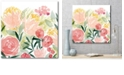 """Courtside Market Sunkissed Posies I Gallery-Wrapped Canvas Wall Art - 20"""" x 20"""""""