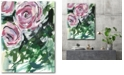 """Courtside Market Modern bouquet Gallery-Wrapped Canvas Wall Art - 18"""" x 24"""""""