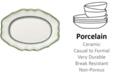 Villeroy & Boch French Garden Green Lines Oval Platter