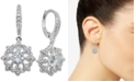 Giani Bernini Cubic Zirconia Cluster Drop Earrings, Created for Macy's