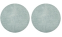 "Safavieh Laguna Light Blue 6'7"" x 6'7"" Round Area Rug"