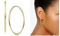 Argento Vivo Endless Medium Hoop Earrings