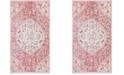 Safavieh Windsor Rose and Sea foam 3' x 5' Area Rug