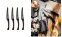 Knork 4PiecePakkawood Utility/Steak Knife Set