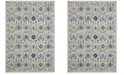 Safavieh Evoke Ivory and Blue 4' x 6' Area Rug