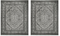 Safavieh Adirondack Silver and Black 12' x 18' Area Rug