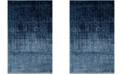 Safavieh Retro Light Blue and Blue 4' x 6' Area Rug