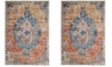 Safavieh Bristol Blue and Orange 8' x 10' Area Rug