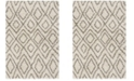 Safavieh Hudson Ivory and Gray 8' x 10' Area Rug