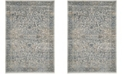 "Safavieh Princeton Cream and Slate 2'6"" x 4' Area Rug"
