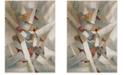 Safavieh Porcello Gray and Multi 9' x 12' Area Rug