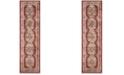 "Safavieh Bijar Red and Rust 2'3"" x 10' Sisal Weave Runner Area Rug"
