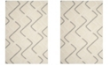 Safavieh Olympia Cream and Gray 4' x 6' Area Rug