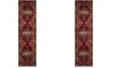 """Safavieh Vintage Hamadan Red and Multi 2'2"""" x 22' Runner Area Rug"""