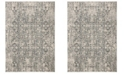 "Safavieh Winston Blue and Grey 2'2"" x 8' Runner Area Rug"