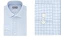 Michael Kors Men's Slim-Fit Non-Iron Airsoft Performance Stretch Blue Print Dress Shirt