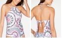 Becca Peace and Love Halter-Neck Tankini Top