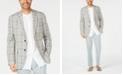 Tasso Elba Men's Plaid Linen Sport Coat, Created for Macy's