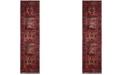 """Safavieh Vintage Hamadan Red and Multi 2'2"""" x 10' Runner Area Rug"""