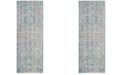 Safavieh Windsor Spa and Fuchsia 3' x 8' Area Rug
