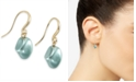Charter Club Gold-Tone Imitation Pearl Drop Earrings, Created for Macy's