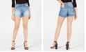 FLYING MONKEY Cotton Cutoff Denim Shorts