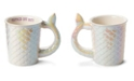 Tri-Coastal Design Embossed Mermaid Tail Mug