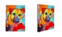 "Trademark Global Corina St. Martin 'Rusty' Canvas Art - 47"" x 35"" x 2"""