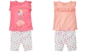 First Impressions Baby Girls Ruffle Top & Fruity-Print Shorts Separates, Created for Macy's