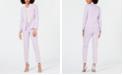 Bar III Bi Stretch Jacket, Solid T Shirt & Bi Stretch Pant, Created for Macy's