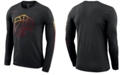 Nike Men's Cleveland Cavaliers Dry Mezzo Logo Long Sleeve T-Shirt