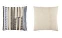 "Jaipur Living Nikki Chu By Nova Cream/Black Stripe Down Throw Pillow 22"""
