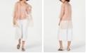 Eileen Fisher Silk Kimono & Camisole