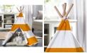 zoovilla Pet Teepee, Orange Stripe, Large