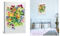 """iCanvas """"Autumnal Bouquet"""" By Kim Parker Gallery-Wrapped Canvas Print - 60"""" x 40"""" x 1.5"""""""