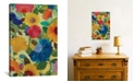 """iCanvas """"Love Flowers Ii"""" By Kim Parker Gallery-Wrapped Canvas Print - 26"""" x 18"""" x 0.75"""""""